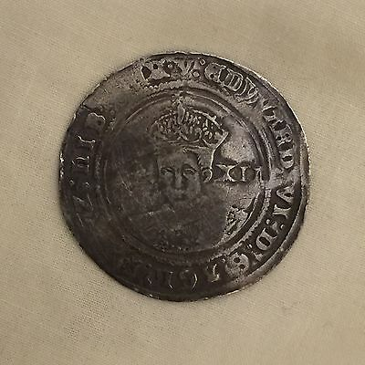 King Edward vi silver hammered shilling coin 6th