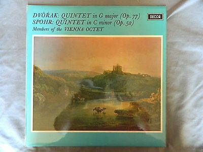 Dvorak Quintet In G Major Members Of The Vienna Octet  Decca Sxl 6463 Ed4