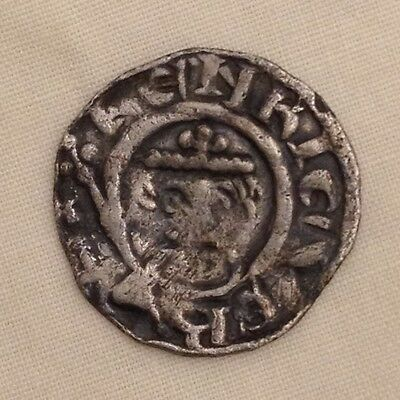 King Richard I  penny silver hammered short cross 1st metal detecting find