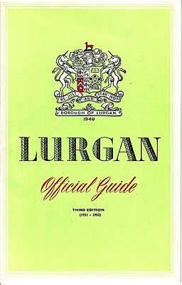 Lurgan Official Guide 3rd Edition 1951-1952 County Armagh Northern Ireland Ads