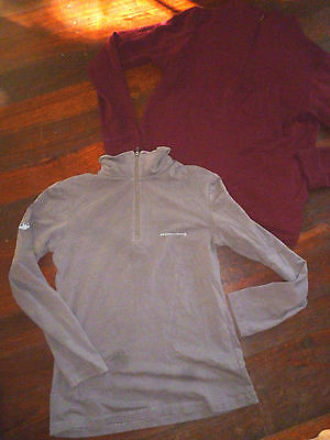 MOUNTAIN DESIGN top & WILD SOUTH merino wool jumper size S