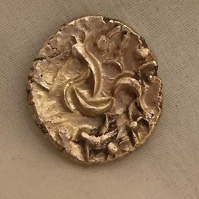 Celtic gold stater corieltauvi south ferriby type hammered coin