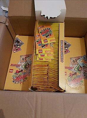 1200 packs ( 4 boxes ) Of Lego Create The World Trading Cards  Unopened