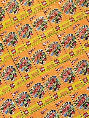 52 Brand New Packs (208 Cards) of Sainsburys LEGO Create The World Trading Cards