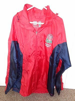 Men's small England Rugby rain jacket