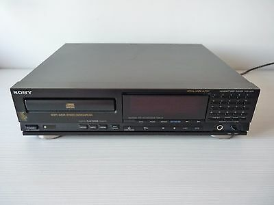 Sony Cdp-M79 Cd Player Midi Format Reproductor