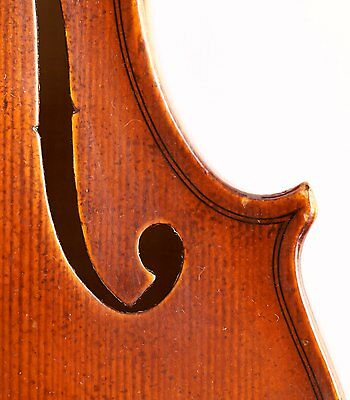 RARE antique years old italian 4/4 ヴァイオリン  violin E.GUERRA 1922 geige violon