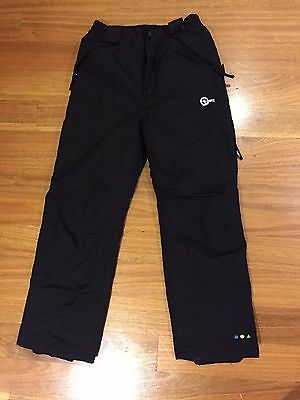 ski pants - kids size 14 - black