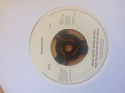 """Vengaboys 7"""" vinyl singles - we like to party / up and down & kiss / boom boom"""