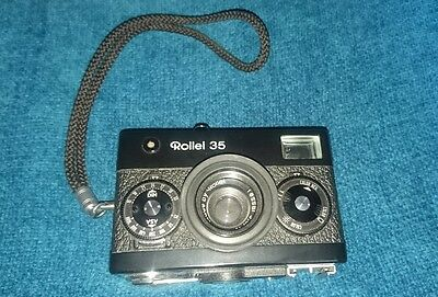 Rollei 35 Original Camera Tessar 3,5/40mm lens, Very Rare 1970's model #6153327