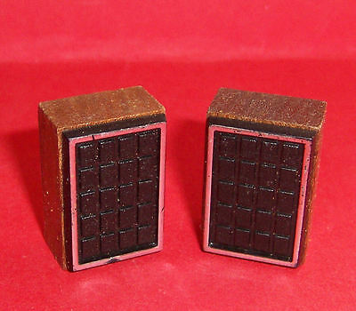 VINTAGE 1970's LUNDBY BARTON DOLLS HOUSE STEREO SPEAKERS