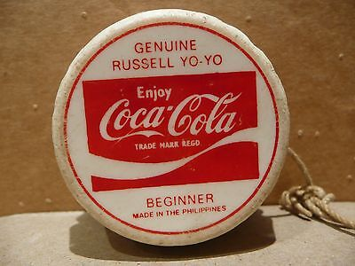 Genuine Coca Cola Russell Yoyo Beginner Bottle Top Type Different Text