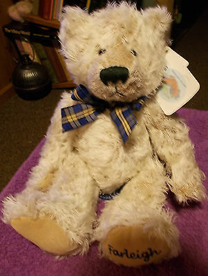 New Russ Berrie Farleigh Hospice Teddy Bear Plush Soft Stuffed Toy 12""