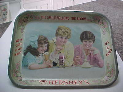 ANTIQUE Hershey  ICE CREAM TRAY