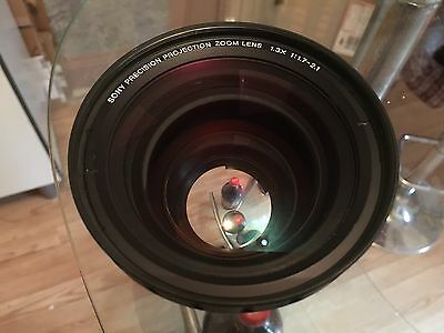 Sony Precision Projection Zoom Lens 1.3x 1:1.7-2.1