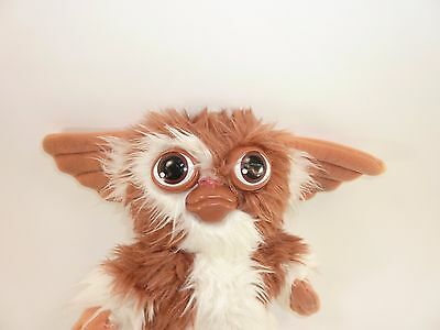 "Vintage 1984 Hasbro Gremlins Squeaky Gizmo 10"" Plush Stuffed Animal"