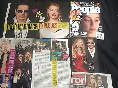 Johnny Depp  -  Clippings/cuttings/articles