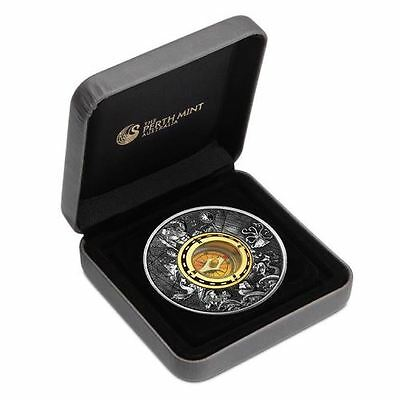 2017 $2 Tuvalu Compass 2oz Silver Antiqued Coin Numbered: 2434