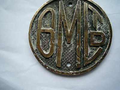 G.m.ltd Brass Sign