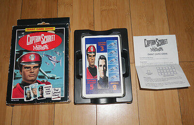Captain Scarlet Giant Card Game Boxed Paul Lamond Games 1993   (356)
