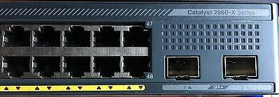 Cisco Catalyst 2960X-48TD-L 48 Ports Manageable Ethernet Switch