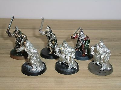 Lord of The Rings - Rohan Royal Guard x 6 - Metal