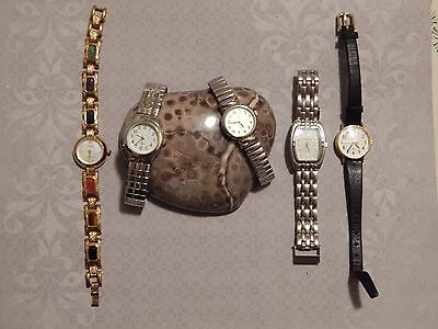 Lot of 5 Quartz Watches - All in need of Repair