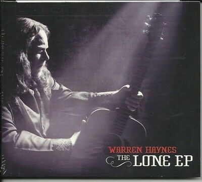 Gov't Mule WARREN HAYNES Lone EP SOLO ACOUSTIC LIMITED CD  Allman Bros SEALED!