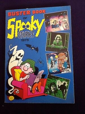 BUSTER BOOK OF SPOOKY STORIES 1975 Spin Off To UK Comic Soft back Book Annual