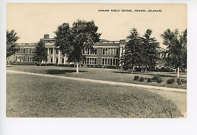 Newark DE Antique Public School PC ca. 1930s