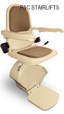 Acorn/Brooks Slimline Stairlift Fitted With 12Months Warranty