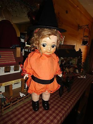 carnival kewpie  approx. 17 in. tall halloween decoration composition