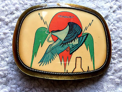 1976 Pacifica Eagles 'On The Border' Belt Buckle