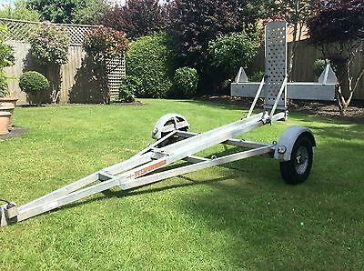 motorcycle trailer, Kliponoff Single Bike