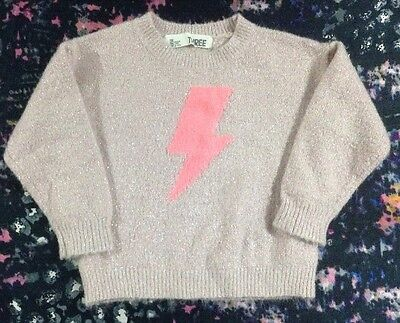 Cotton On Kids Girls Knit Jumper Size 3