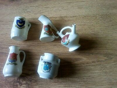 crested ware..motto ware .pottery old.collectable.