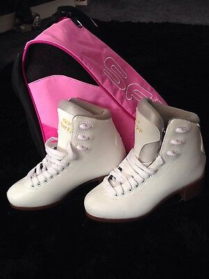 Hraf bolero white ice skates size 37 uk 4.5