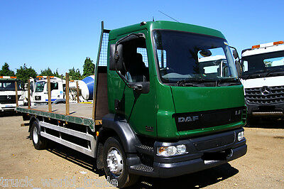 2004 Daf Lf 55.180 4X2 Flat Bed Truck Timber Truck Recovery Tipper  Export Lorry