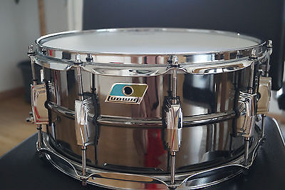 Ludwig Black Beauty Snare 14 x 6.5 Brass Messing - Ludwig LB 417