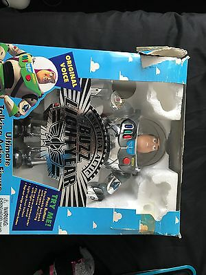 Disney Toy Story Intergalactic Buzz Lightyear Ultimate Talking Action Figure