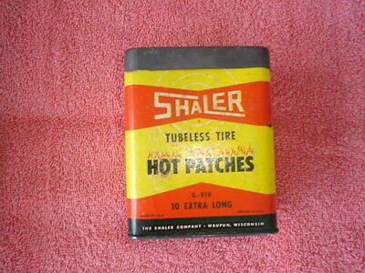 Vintage Shaler Tubeless Tire Hot Patches With Some Original Patches In It