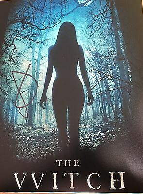 ANYA TAYLOR JOY AUTOGRAPH  SIGNED 10x8 Photo - The Witch