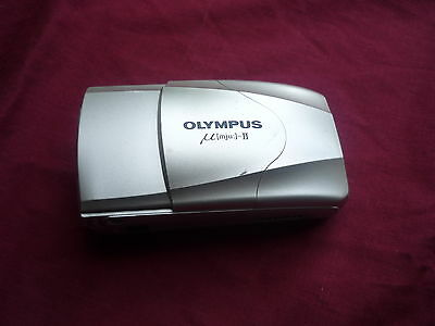 Olympus µmju:-II 35mm Compact Film Camera with 35 mm lens Kit