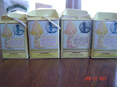 Vintage Enesco Precious Moments Birthday Series 1985