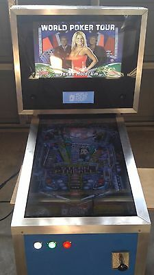 "32"" Popup Pinball Funhouse themed Virtual Pinball Table"