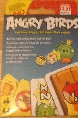 Angry Birds card game by Mattel