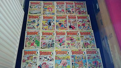 Vintage Dandy Comic Joblot X 20 All From 1994/1995