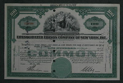 Consolidated Edison Company of New York, Inc. 1960 100 Shares .