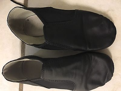 Lot Of 2 Jazz Black Dance Shoes Bloch 13.5 And 1