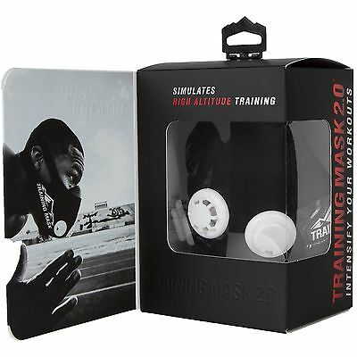 Elevation Training Mask 2.0 High Altitude For Athletic Oxygen Enhancement Mma